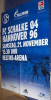 Plakat + Poster + Schalke + Hannover 96 + 21.11.2009