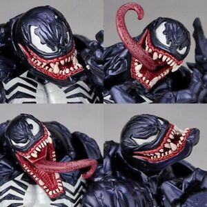 Venom Series PVC Revoltech Action Figure Model Collection Toy Marvel Spider Man.