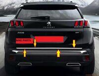 Peugeot 3008 SUV 2016 Kofferraumleiste Heckleiste Zierleiste Edelstahl Chrom
