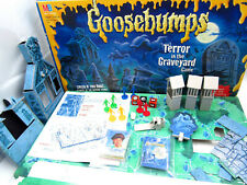 Goosebumps Board Game Terror in the Graveyard by MB Complete Vintage from 1995