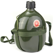 1.5L Army Military Outdoor Canteen Camping Cycling Aluminum Water Bottle Cup