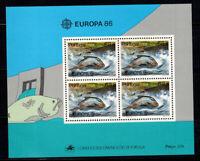Europa 1986 Mi. Bl.50 Block 100% Postfrisch CEPT, Portugal