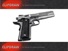 COLT Full 1911 Gold Cup Series CLIPDRAW 1911-S Holster Clip Conceal Carry Belt