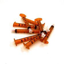 BD Oral Fluids Medicine Syringes With Cap - Baby Children Elderly Dosing Syringe 3ml 5