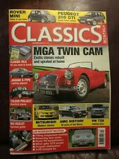Classics Monthly. December 2016. Good Condition. MGA twincam