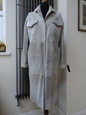 Sprung Freres Leather Shearling Sheepskin Reversible Coat Size M , L RRP £2230