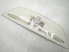 1956 56  MERCURY  TRUNK DECK LID  CREST  PLASTIC EMBLEM   NEW