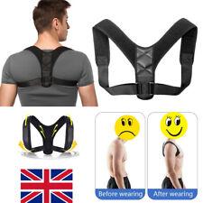 Posture Corrector Adjustable Body Shape Shoulder Belt Support Back Brace Unisex