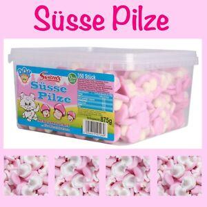 >> SÜSSE PILZE / Süße Pilze Dose 350 Stück / 875 g DOK Swizzels Schaumzucker süß