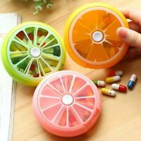 7-Day Weekly Tablet Medicine Pill Drug Storage Tray Box Jewelry Organizer 1pc TH