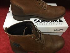 e577c320676 Sonoma Life Style Jaxon Tan Lace up Utility Ankle Boot Men s Size 13 Medium  Heel