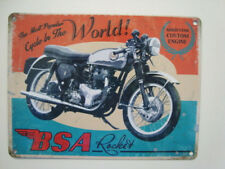 1961 Isle of Man TT Races Vintage Metal Wall Sign 150mm x 200mm