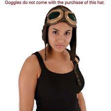 Aviator Pilot Hat Cap World War l Bomber Steampunk Costume New