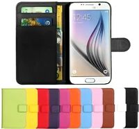 Magnetic Flip Stand Cover Wallet Leather Case For Samsung galaxy J3 J5 S5 S6 S7