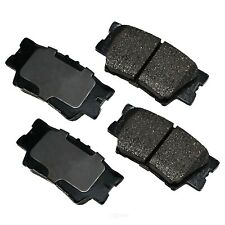 Disc Brake Pad Set-Performance Ultra Premium Ceramic Pads Rear Akebono ASP1212