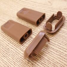 2 x DOOR LOCK KNOB SURROUND TOYOTA HILUX PICKUP LN50 LN56 LN60 MK2 84-88 BROWN