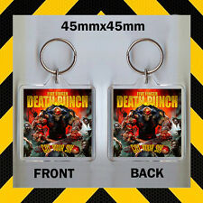 Got Your Six-Five Finger Death Punch  - CD COVER KEYRING - KEY CHAIN - 45mm X 45
