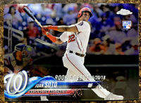 🔥Juan Soto RC 2018 Topps Chrome Update Series Rookie Debut #HMT98 Nationals