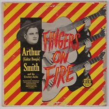 "ARTHUR ""GUITAR BOOGIE"" SMITH: Fingers on Fire MGM Rockabilly 10"" '51 LP HEAR!"