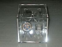 ~1 All Sports Championship 2 Ring Holder Display Stand Case Box Cube