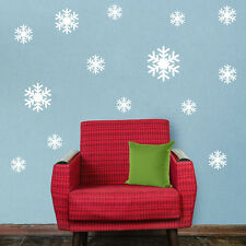 HOT Christmas Snowflake Wall Sticker Home Decoration Sticker for Window Glass