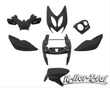 Verkleidungsset schwarz matt 7 Teile Yamaha Aerox MBK Nitro Bodyparts Bodykit