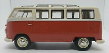 "Collectible Vintage 1962 Volkswagen Classical Bus Kinsmart 6.5""L Free Shipping"