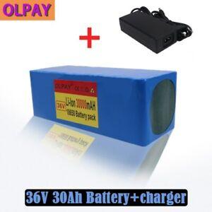 36V battery 30Ah battery pack 42v 30000mAh + charger