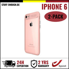 2IN1 AutoFocus Armor Cover Cas Coque Etui Silicone Hoesje Case For iPhone 6 Pink