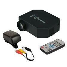 Portable Video LCD Digital HDMI USB AV Mini LED Projector Home Theater Full HD U