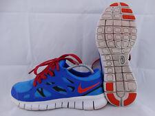 Nike Free Run 2 Sneaker Runner blau-rot-schwarz EU 39 US 6,5Y