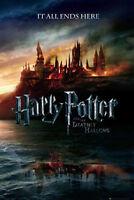 Harry Potter 7 Heiligtümer des Todes Teaser - Poster Druck - Größe 61x91,5 cm