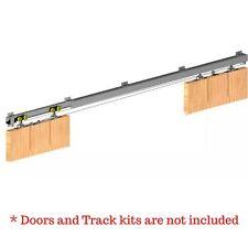Symmetric System for Hercules H2 Sliding Door Track Kit for Double Doors