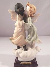 "Giuseppe Armani Figurine ""BLACK and WHITE ANGELS"" #771 C 2002"