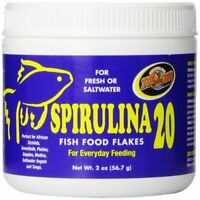 Zoo Med Spirulina 20 Flake Fish Food 2-Ounce