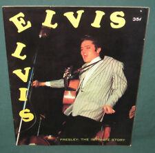 Elvis Presley The Intimate Story All Elvis Magazine 1956 Nice & RARE