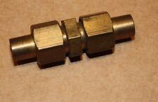 """Solder Olive 1/4"""" x 1/4"""" Copper Pipe Union"""