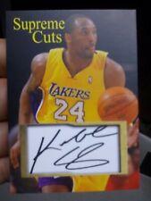 Kobe Bryant Supreme Cuts Autograph Card LA Lakers 🔥