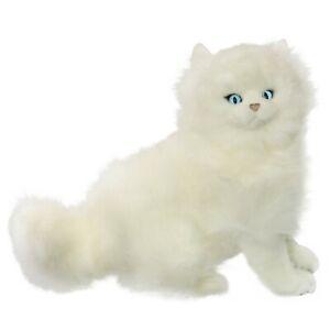 Cat Persian White Plush Stuffed Soft Toy 34cm Pearl by Bocchetta