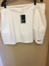 Nike Ladies Tournament Knit Skort White 2XL ladies golf shorts/skirts NWT $75