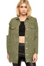 Cappotti e giacche da donna verdi da esterni bottone