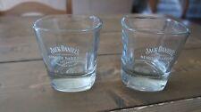 Pair of Jack Daniels Hand Selected Single Barrel Whiskey Glasses