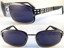 Rare MOMO DESIGN Sport Sunglasses For Men VERY SOLID QUALITY Black Size XL