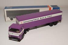 LION CAR DAF 2800 TRUCK WITH TRAILER KARTONNAGEFABRIEK BESIN ERMELO NMINT BOXED