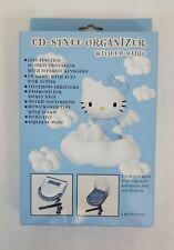 RARE Sanrio HELLO KITTY Blue ANGEL Electronic CD-Style ORGANIZER w FM Radio NEW