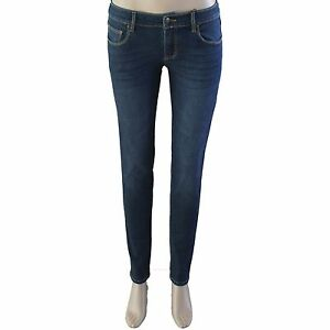 New Women's Blue Denim Jeans Skinny Fit Size 8 9 10 11 12 14