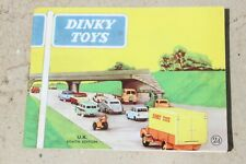 DINKY 1960 CATALOGUE very good condition 1960s