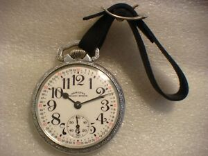 ~HAMILTOM 992B 16 SIZE HAMILTON RAILROAD 21 JEWEL POCKET WATCH! (1950)~