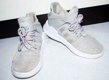 Adidas EQT Basketball Adv Grey One Sub Green. PreSchool Boys Size 13.