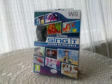 Disney Sing It: éxitos de películas, para Wii